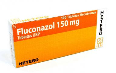 Fluconazol 150 mg, Tabletas USP
