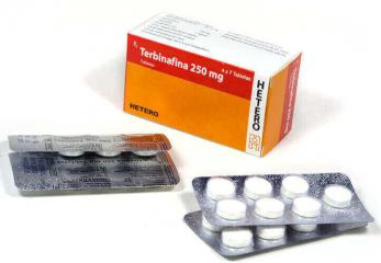 Terbinafina 250 mg, Tabletas BP